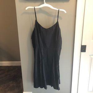 Old Navy XXL Black & White Polka Dot Sun Dress